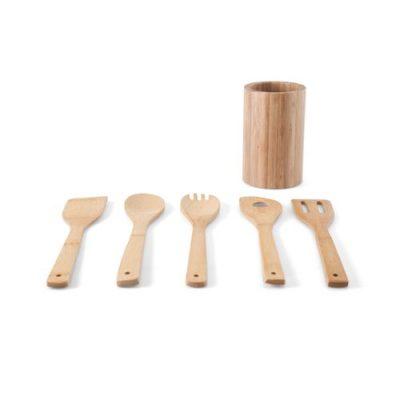 conjunto de 5 utensílios para cozinha