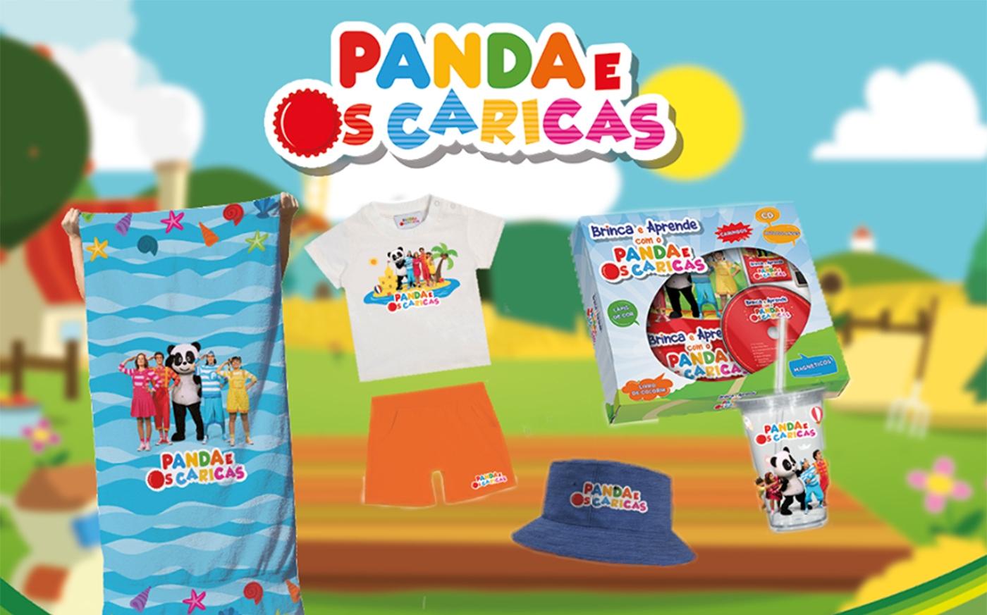 loja online panda e os caricas
