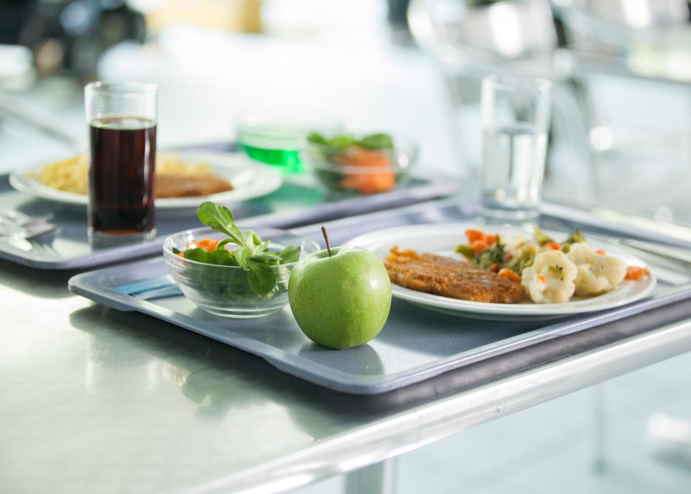 refeição escolar