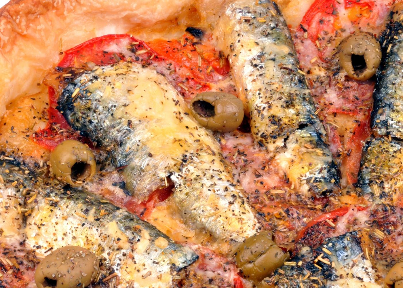 Tarte de sardinhas