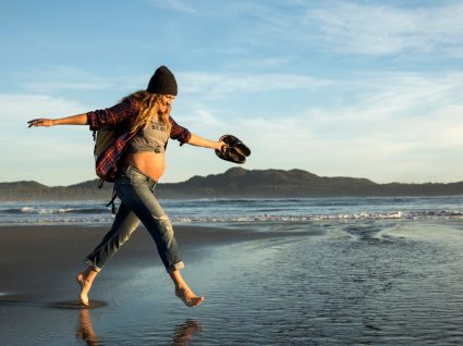 Terceiro mês de gravidez