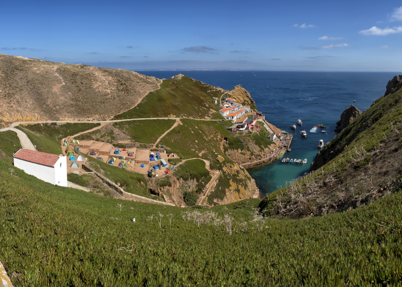 Vista da Ilha Berlenga