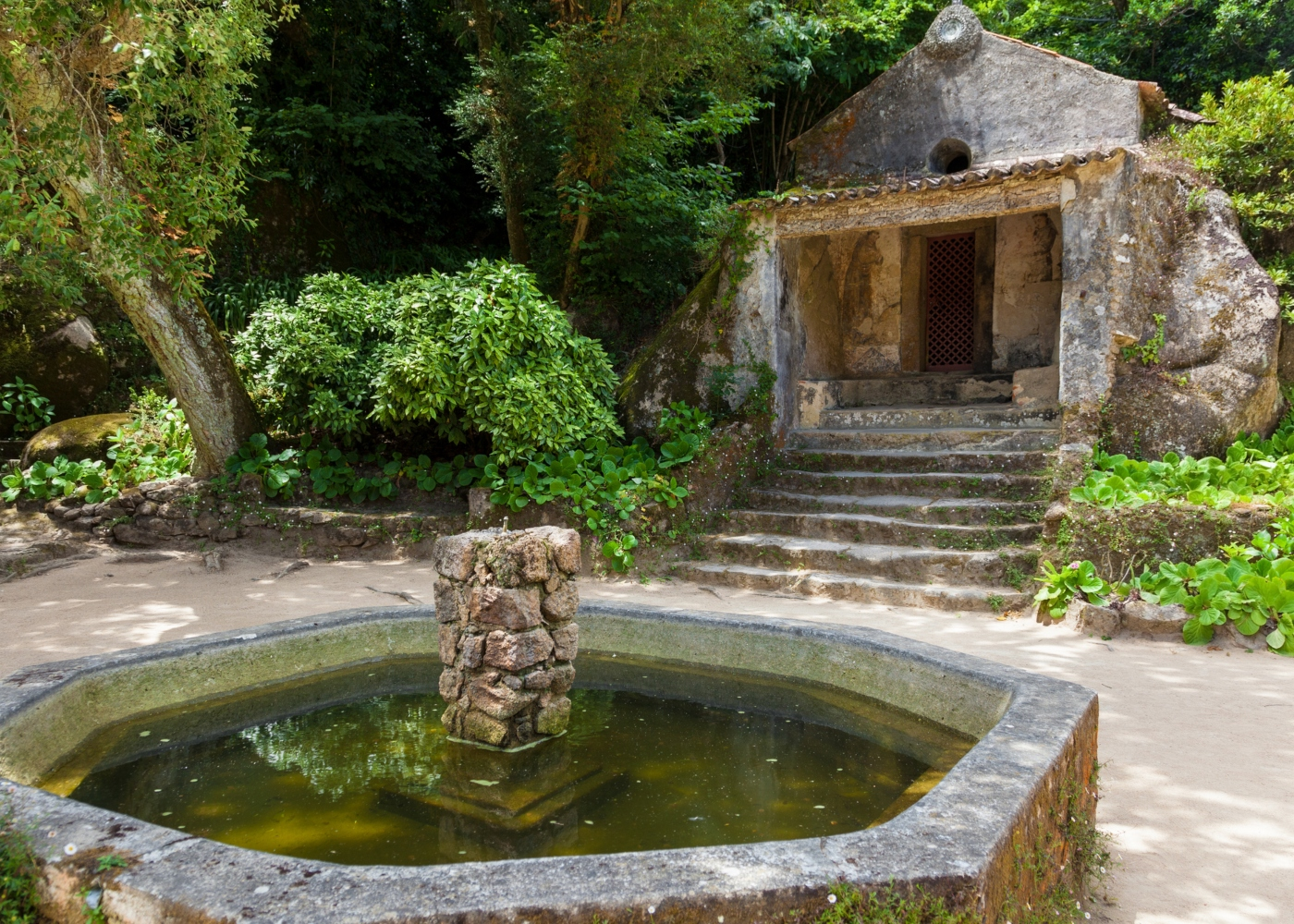 Claustro do Convento dos Capuchos