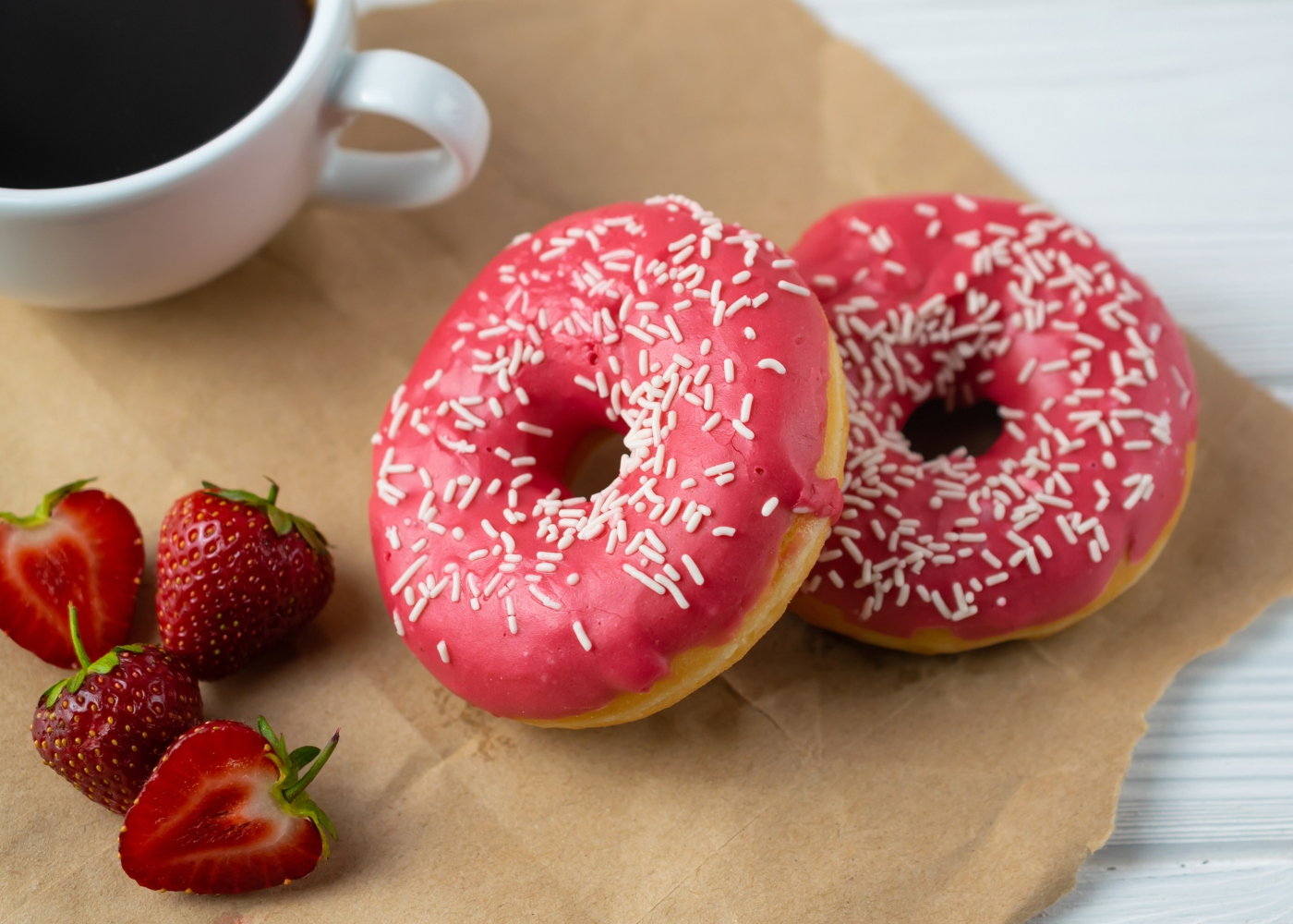 Donuts de morango