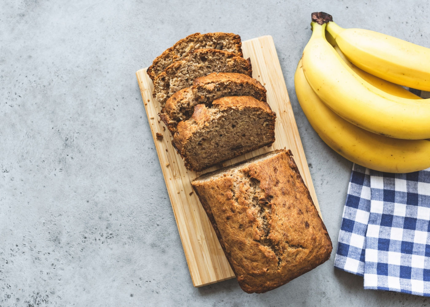 pão de banana para crianças