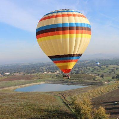 Passeio de balão de ar quente com a Upalentejo