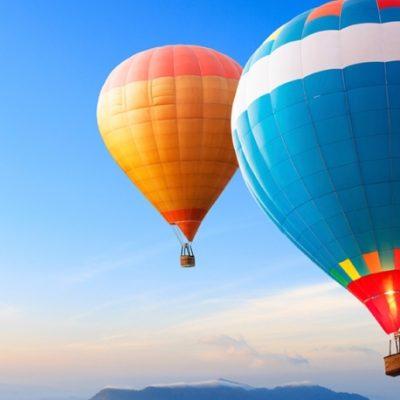 Passeio de balão de ar quente com a Windpassenger