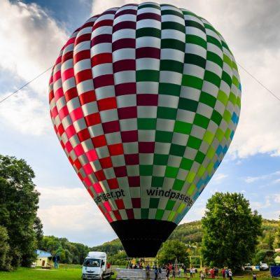 Passeio de balão de ar quente no Porto