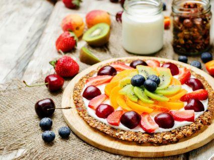 Pizzas doces e saudáveis