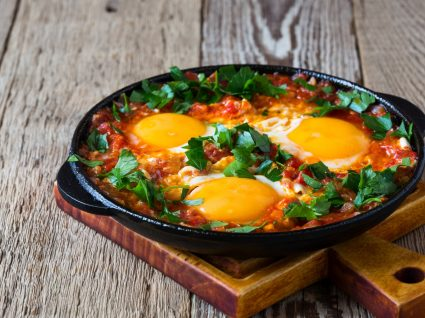 Receitas de ovos no forno