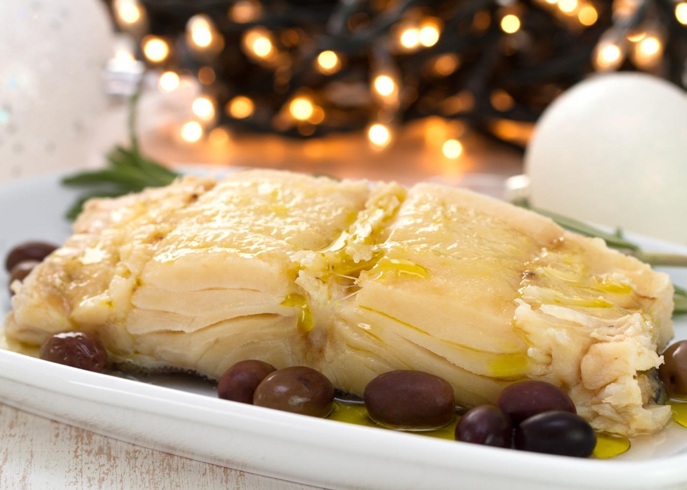 bacalhau cozido noite de natal