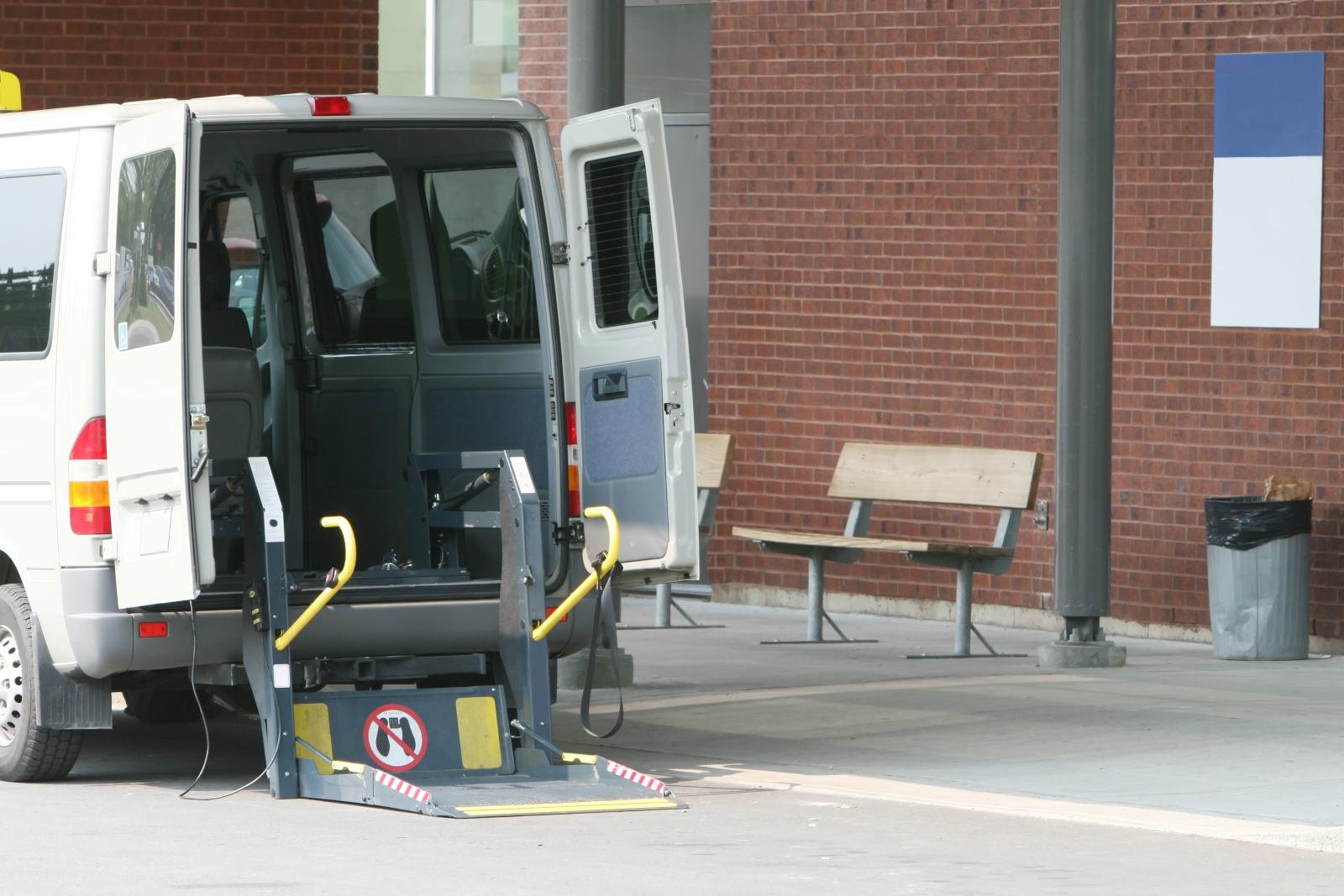 Carrinha para transportar doentes
