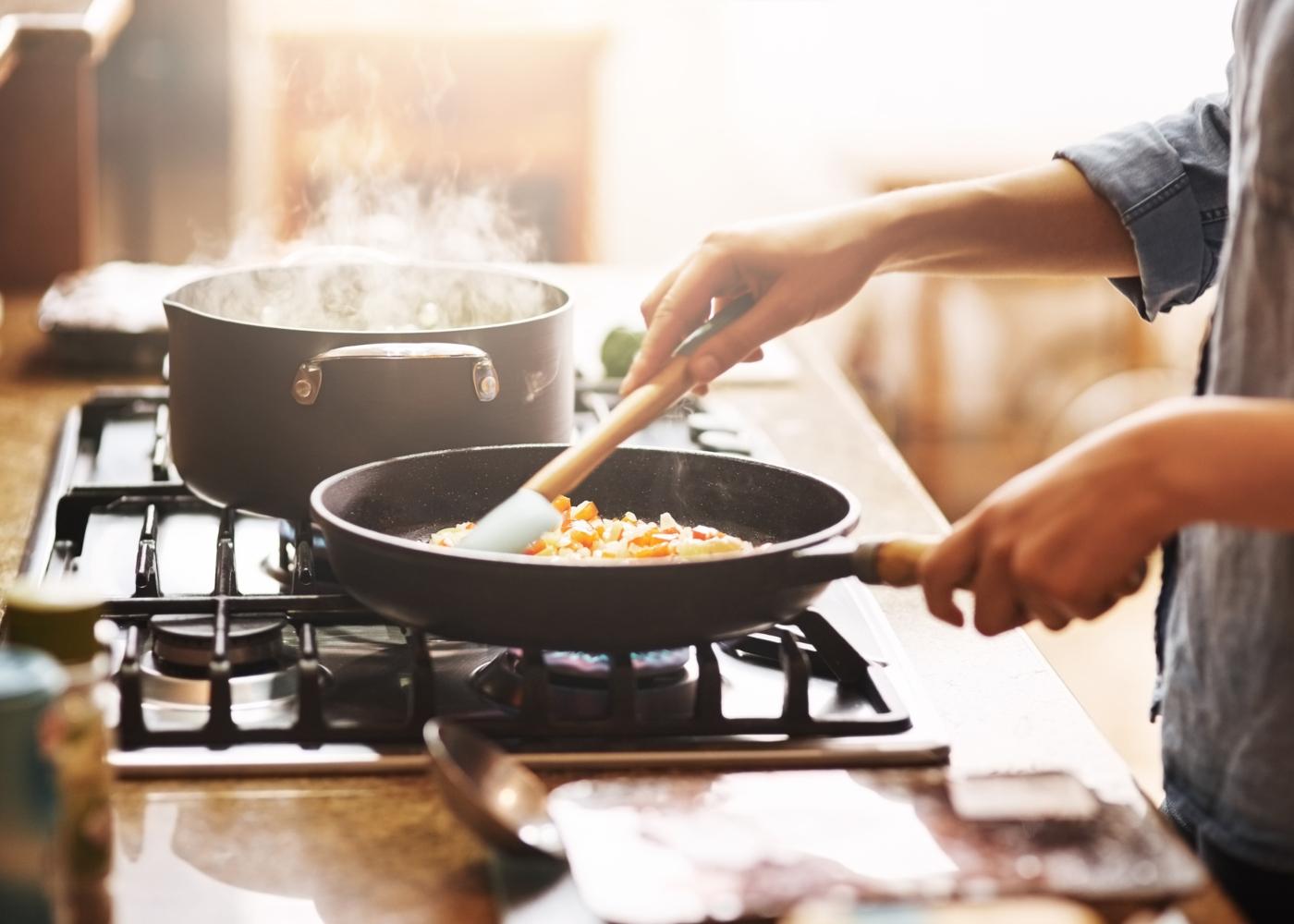 Fazer almoço em casa
