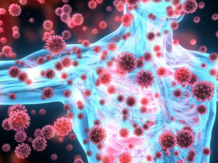Ilustração do conceito de imunidade