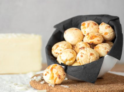 Pão de queijo com batata-doce