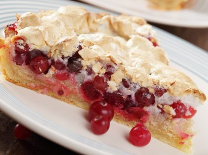 Sobremesas de Natal: tarte merengada de frutos vermelhos