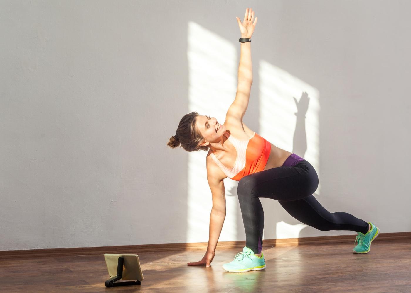 Mulher a fazer World's Greatest Stretch