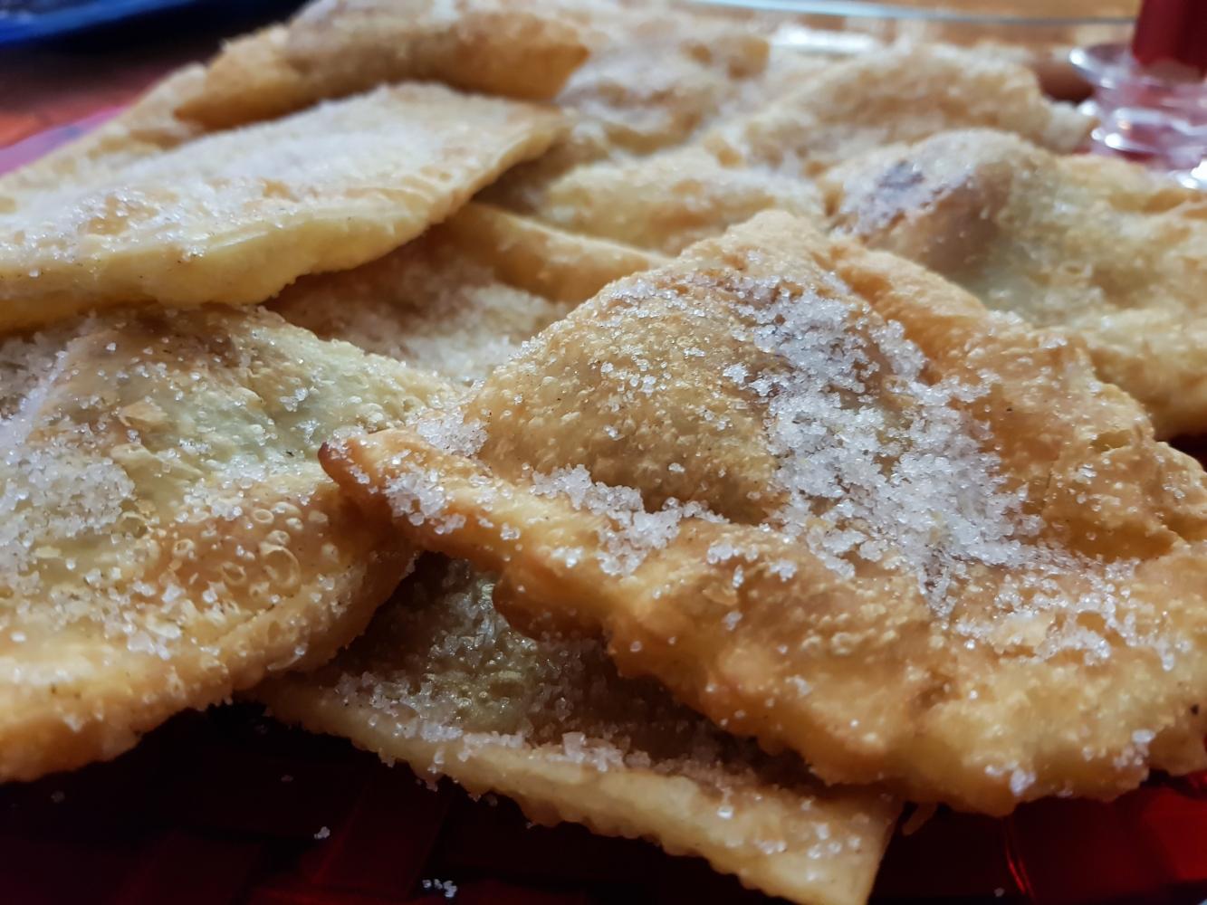 receita de azevias de batata-doce no forno
