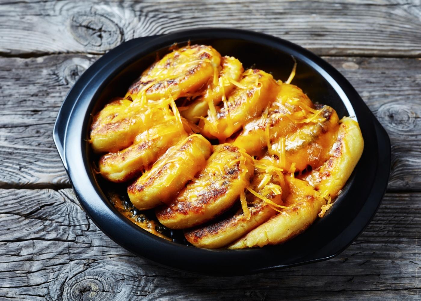Bolinhos de cascas de batatas