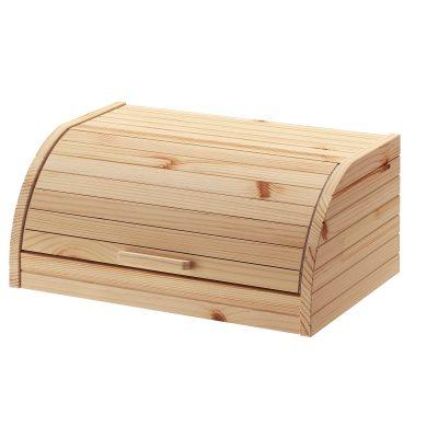 caixa do pão em madeira