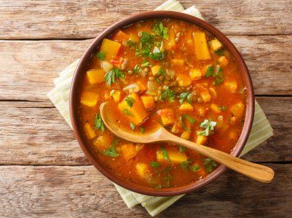 receitas de caril de lentilhas