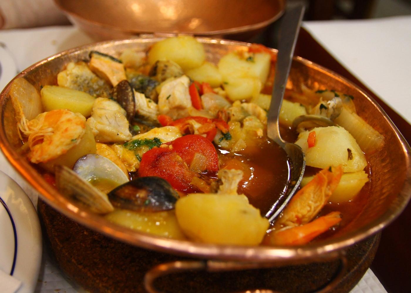 cataplana de bacalhau com batatas