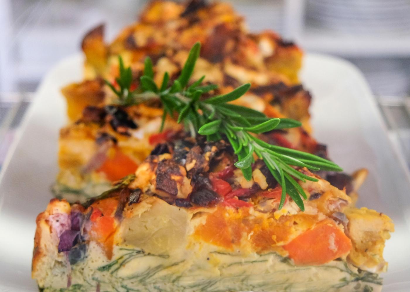 receita de frittata de batata-doce e queijo