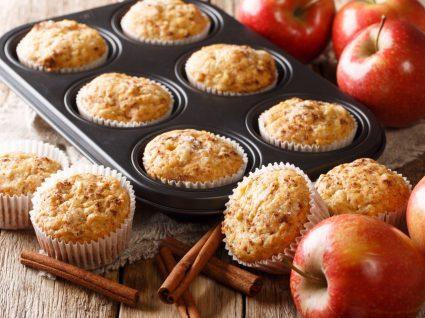 receitas de muffins de canela
