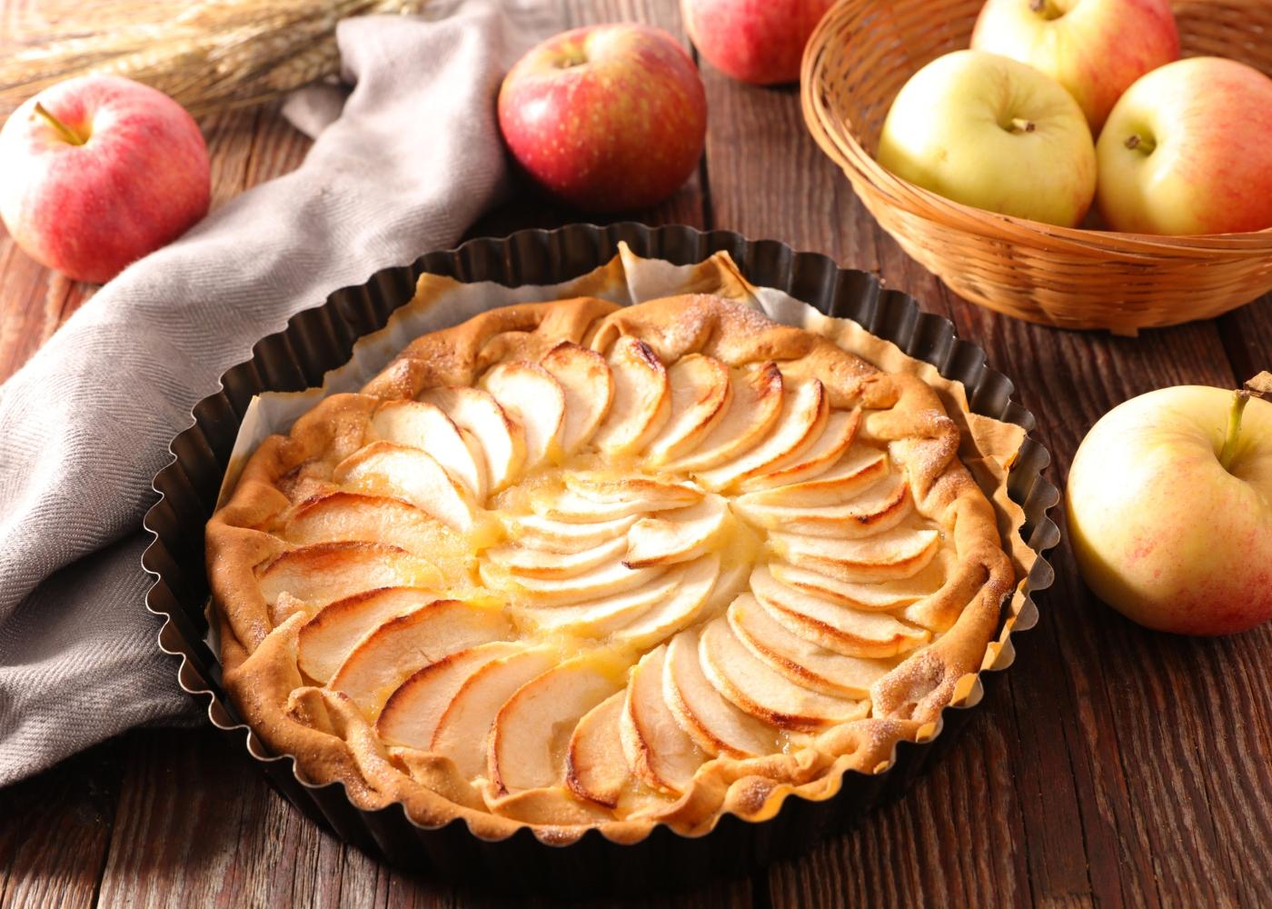 Tarte de maçã sem glúten simples