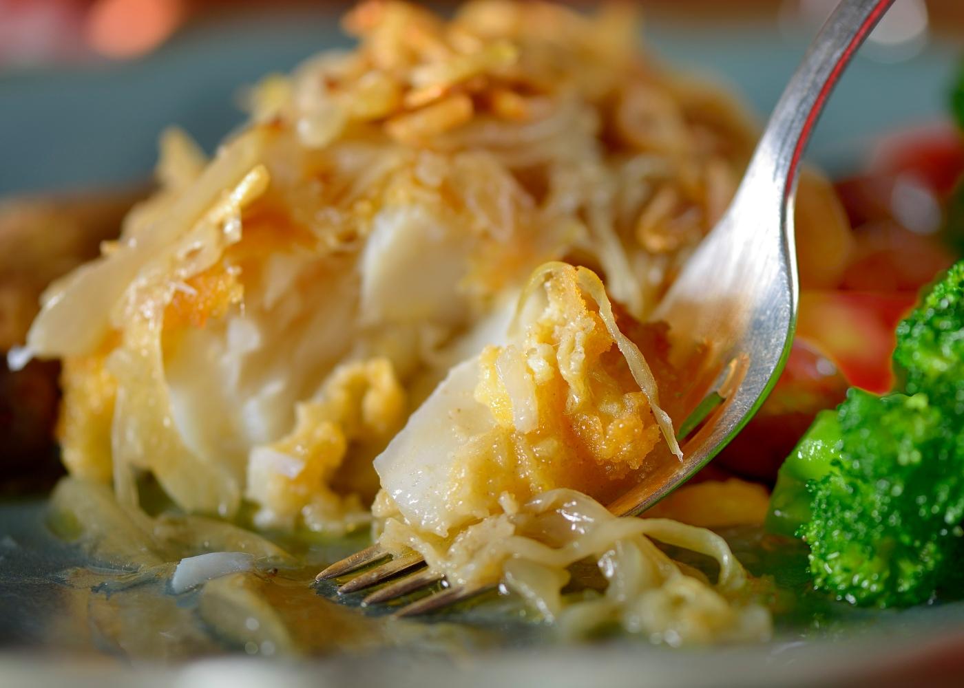 receita de bacalhau à minhota no forno sem panar