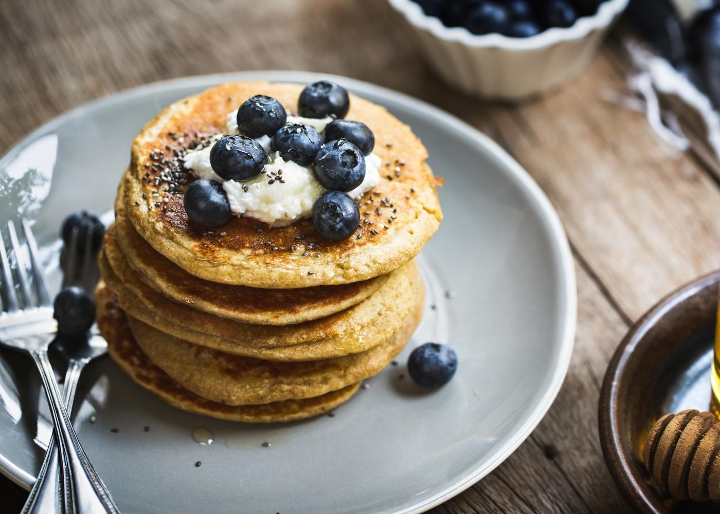 receitas de panquecas sem glúten e lactose