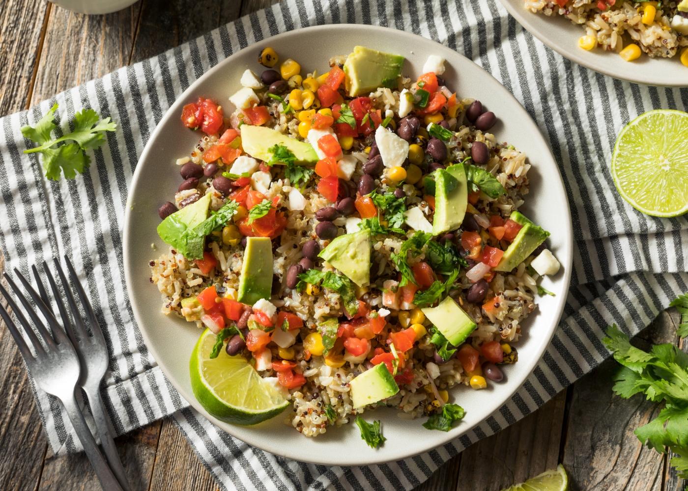 receita de one pot de arroz, feijão e legumes