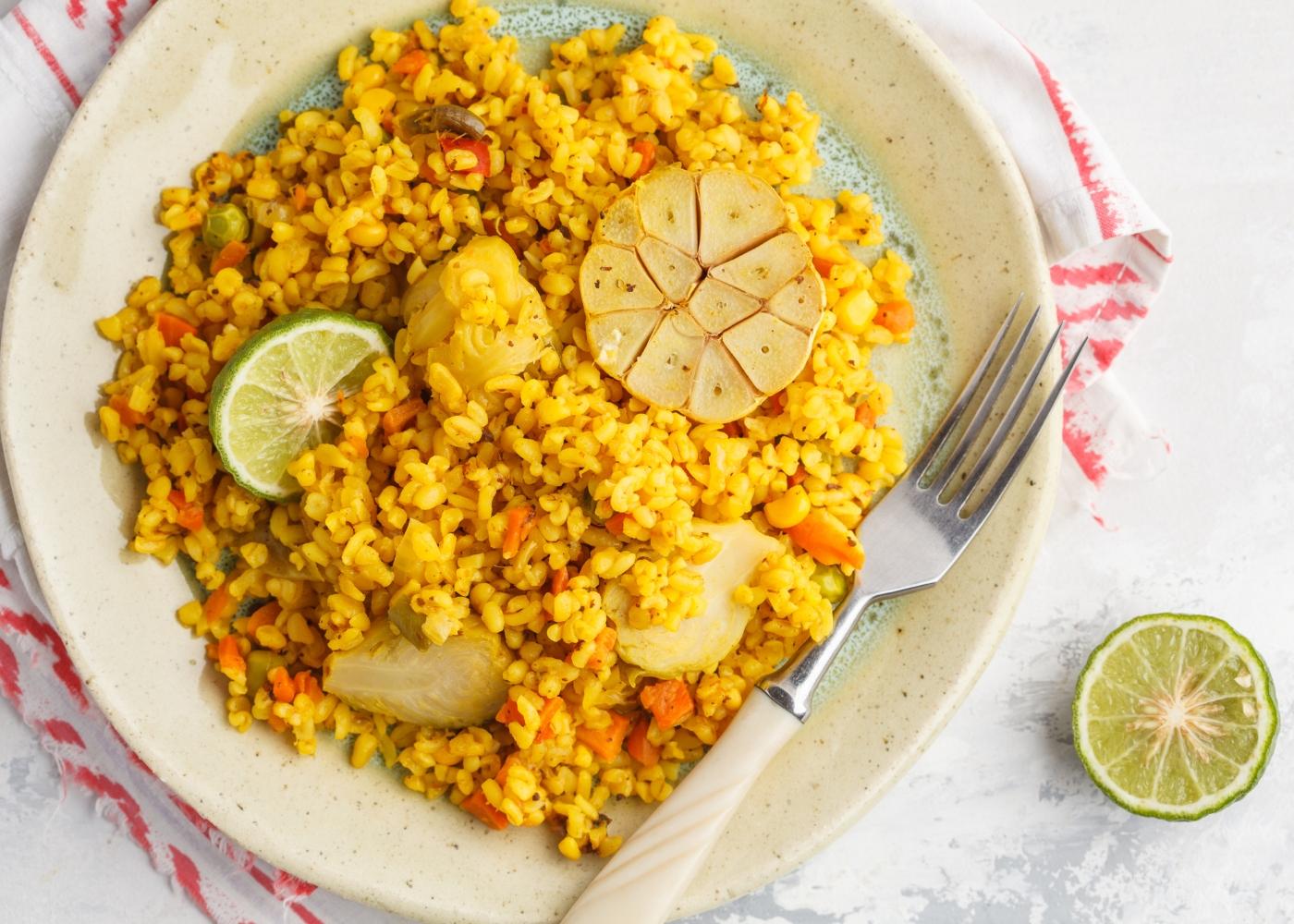 receitas one pot indiana khichidi