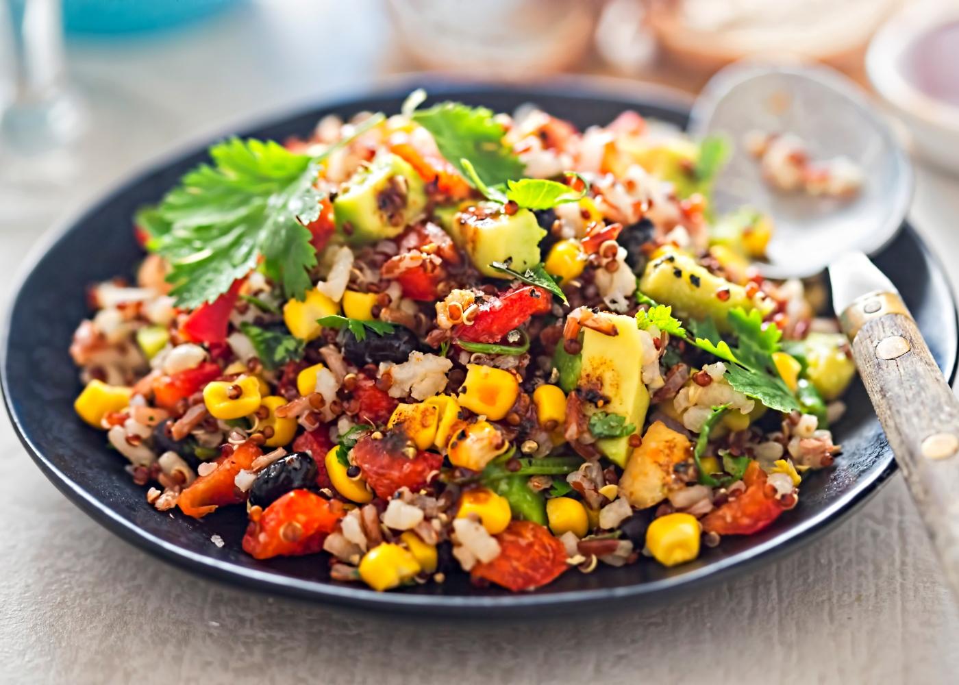 receita one pot quinoa mexicana