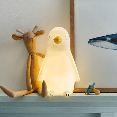 candeeiro pinguim