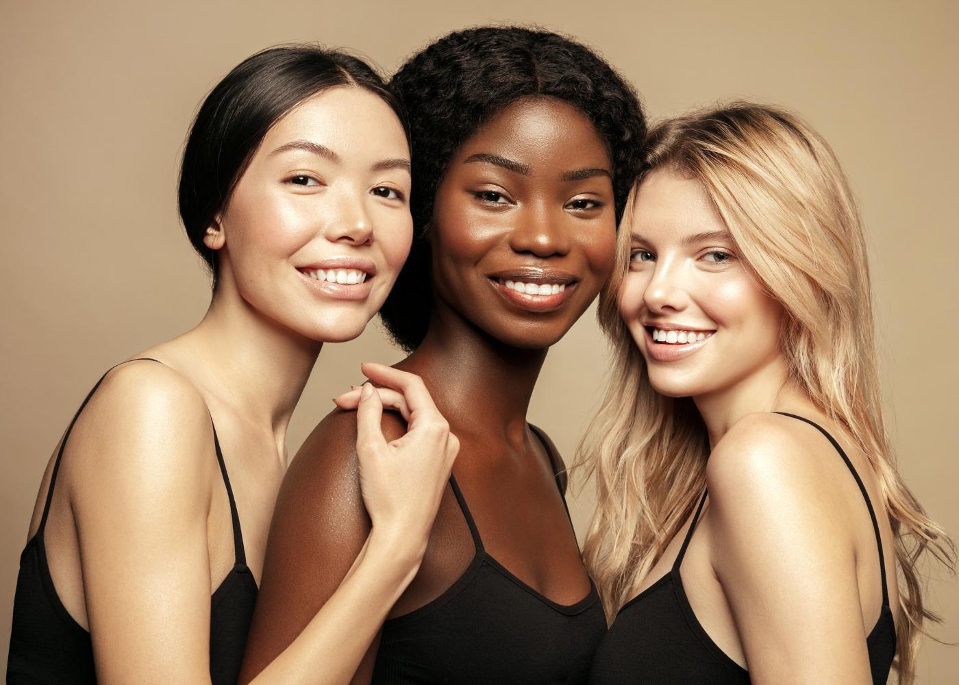 diferentes tipos de pele