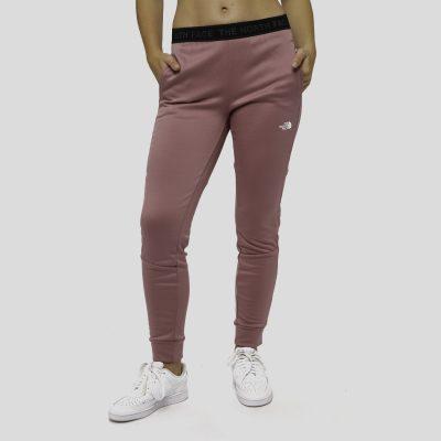 calças de desporto rosa