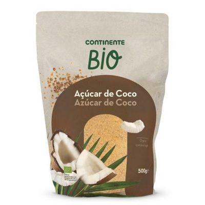 Açúcar de coco Continente