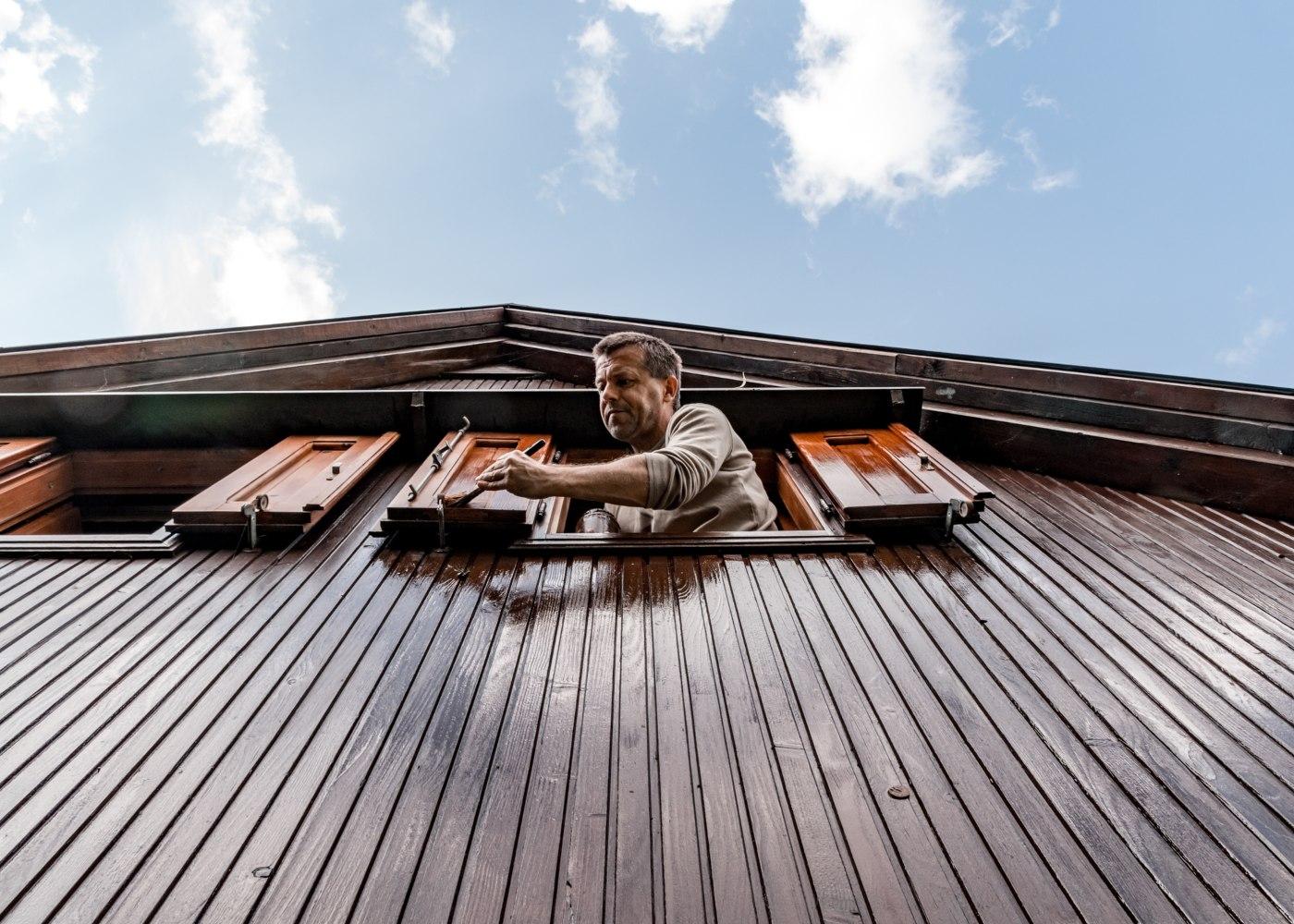 arranjar casa de madeira